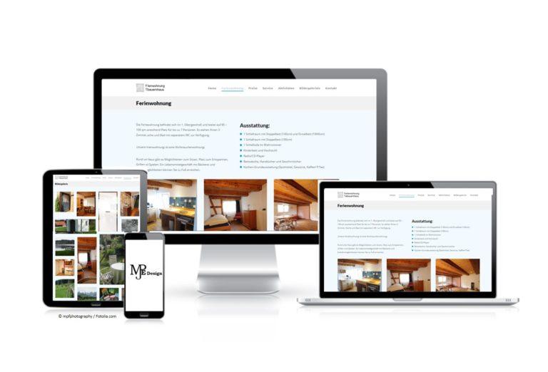 MJPE Design Ferienwohnung Bildschirme